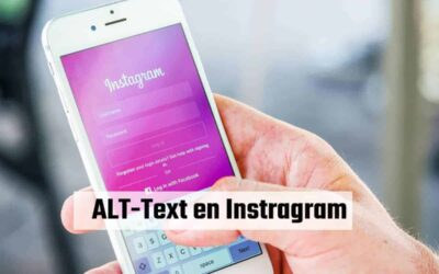Como usar ALT TEXT en fotos de Instagram