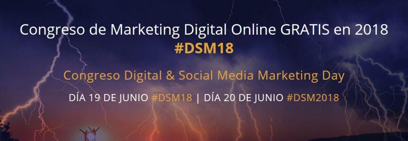 Congreso Digital y Social Media Marketing 2018