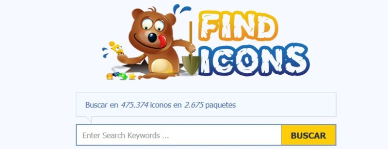 Descargar Iconos gratis con Findicons