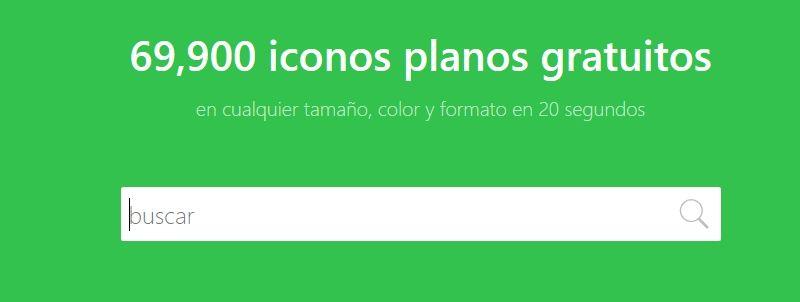 Descargar Iconos gratis con Iconos8
