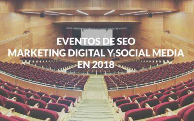 Eventos de Marketing Digital, SEO y Social Media