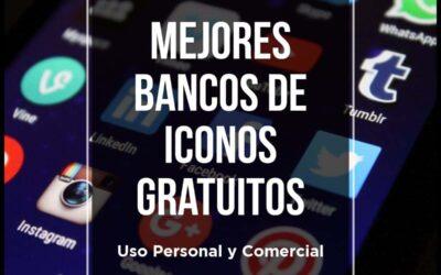 Los Mejores Bancos de Iconos Gratis