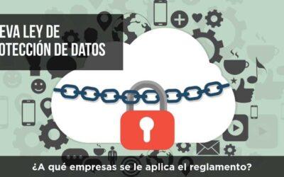 Cuestiones que surgen con la nueva ley de protección de datos