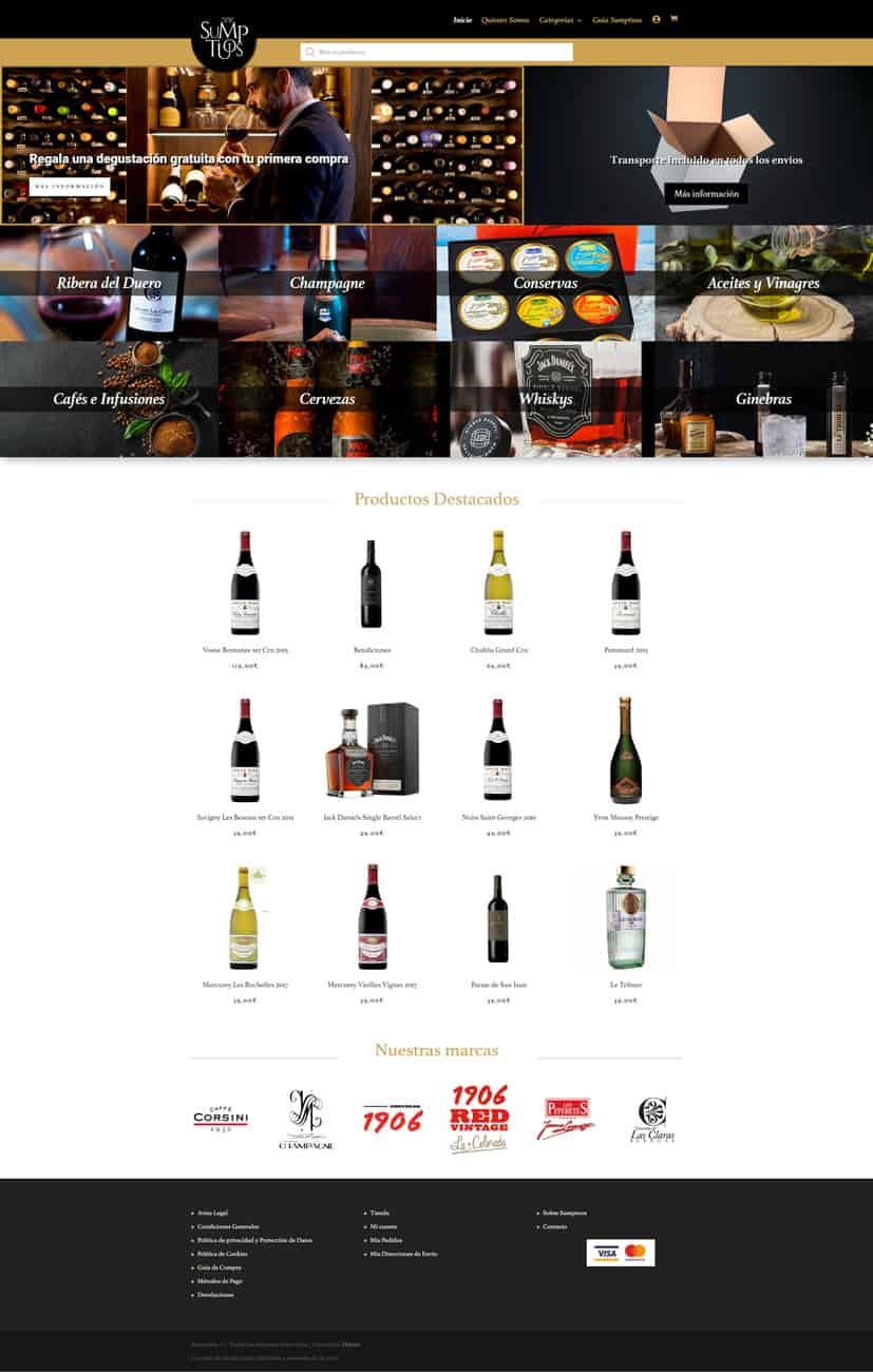 Desarrollo Tienda Online Alimentacion