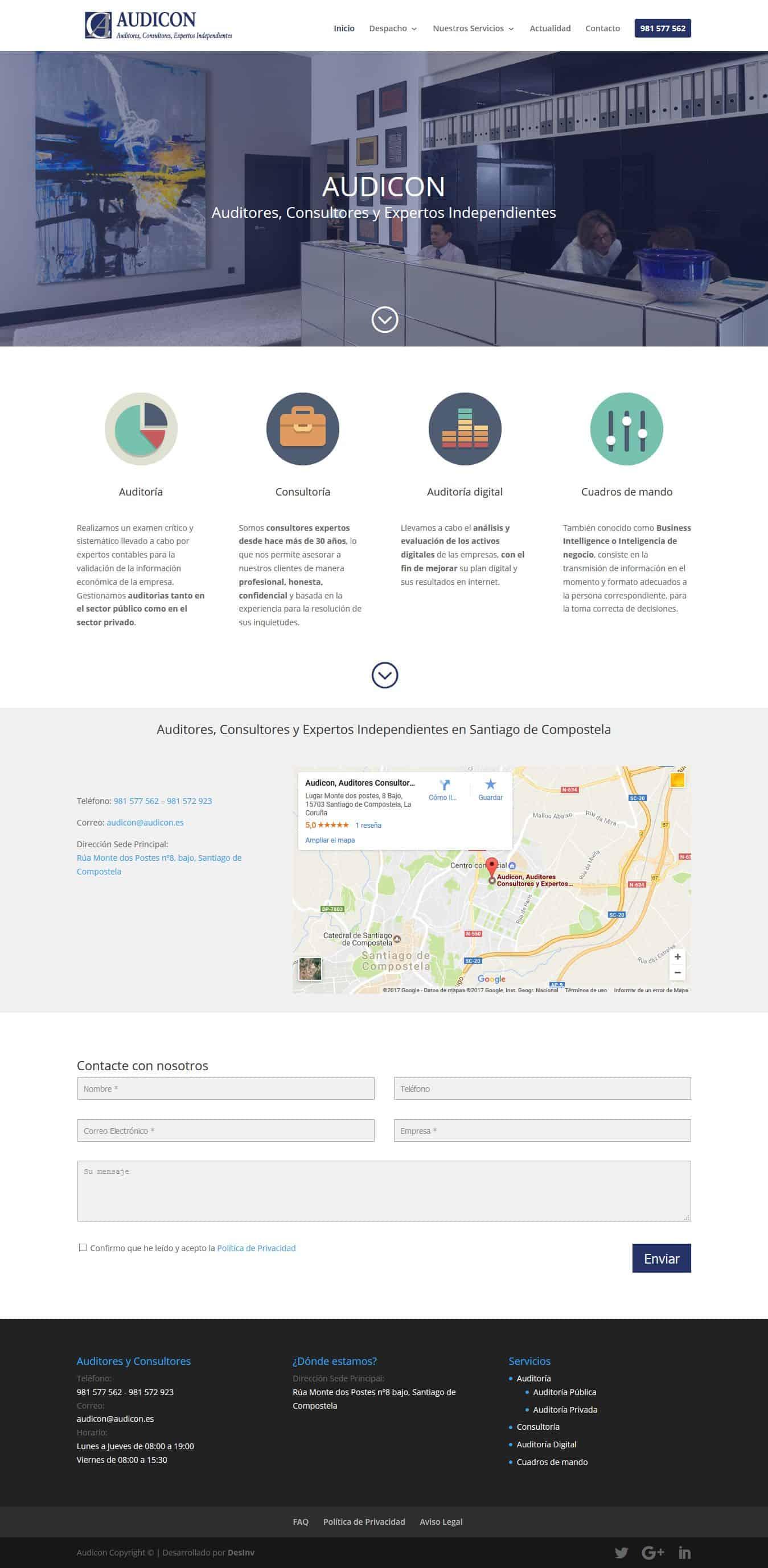 Desarrollo Web Auditores y consultores