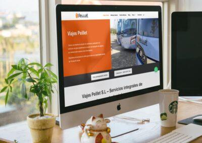 Diseño Web Autobuses