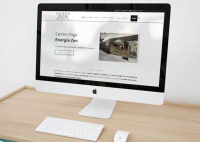 Diseño Web Centro de Yoga