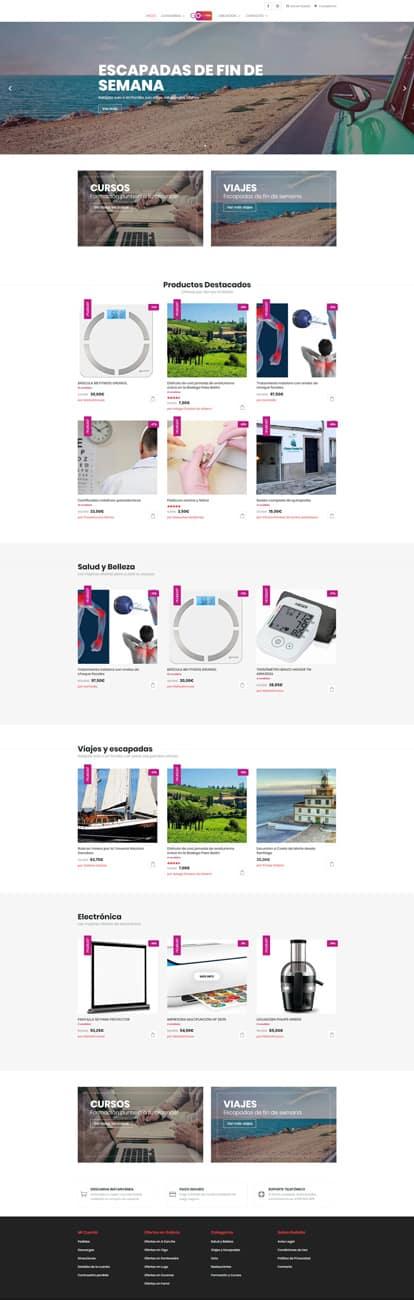 Desarrollo Web Tienda Online Multi Vendedor