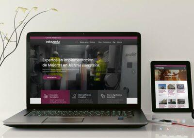 Diseño web para Ingenierías