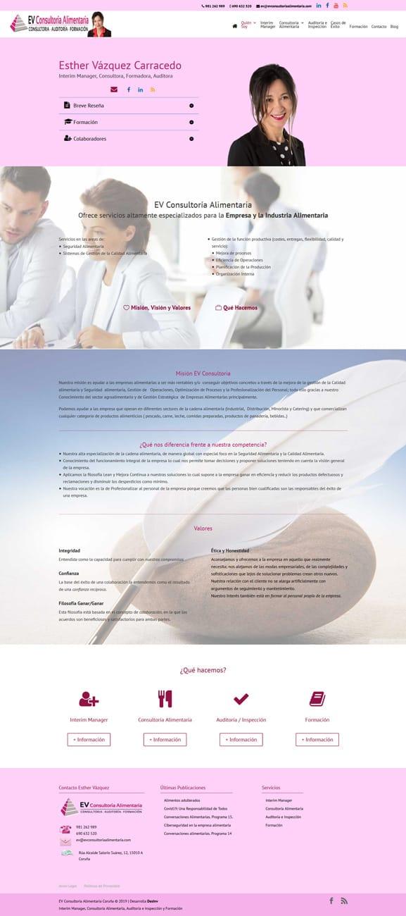 Diseño Web Consultoras